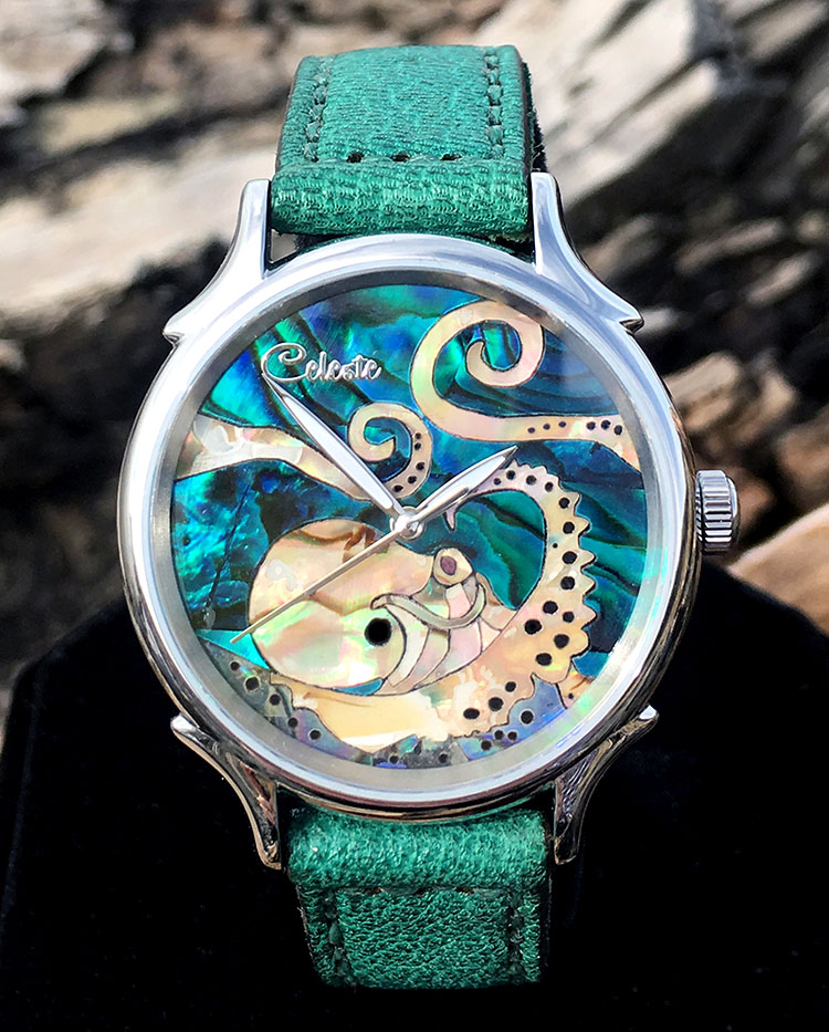 Octopus Watch by Celeste Watch Company