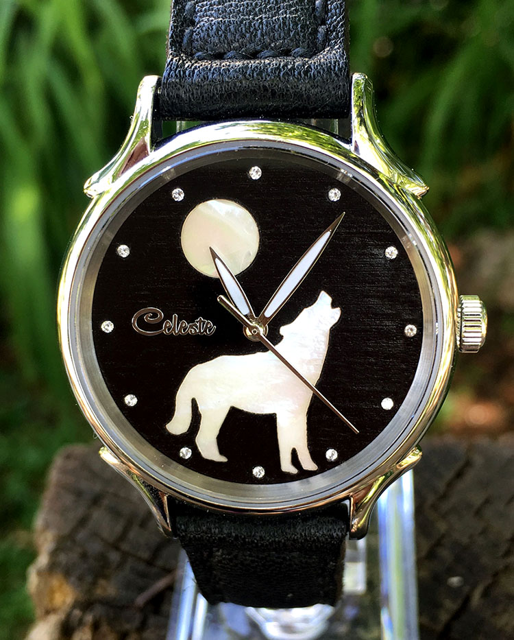 Wolf Watch by Celeste Watch Company